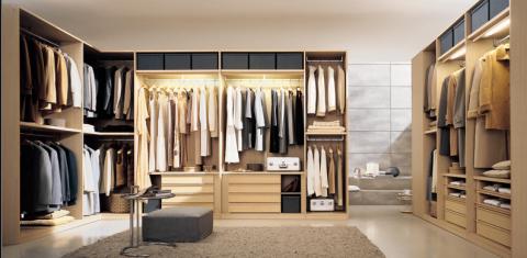 Inloopkasten kastenkamers walk in closets italiaans design for Zelf kamer ontwerpen